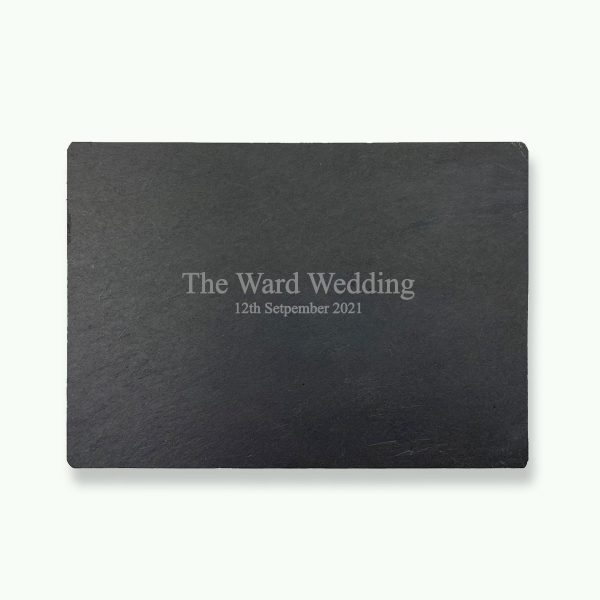 Personalised Slate Placemat