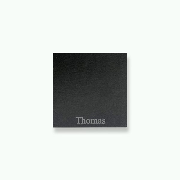 Personalised Slate Name Coasters